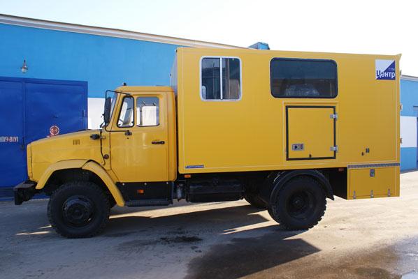 Техничка на базе ГАЗ