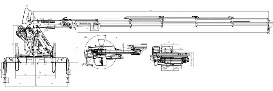 Кран манипулятор ИНМАН ИН 180-05
