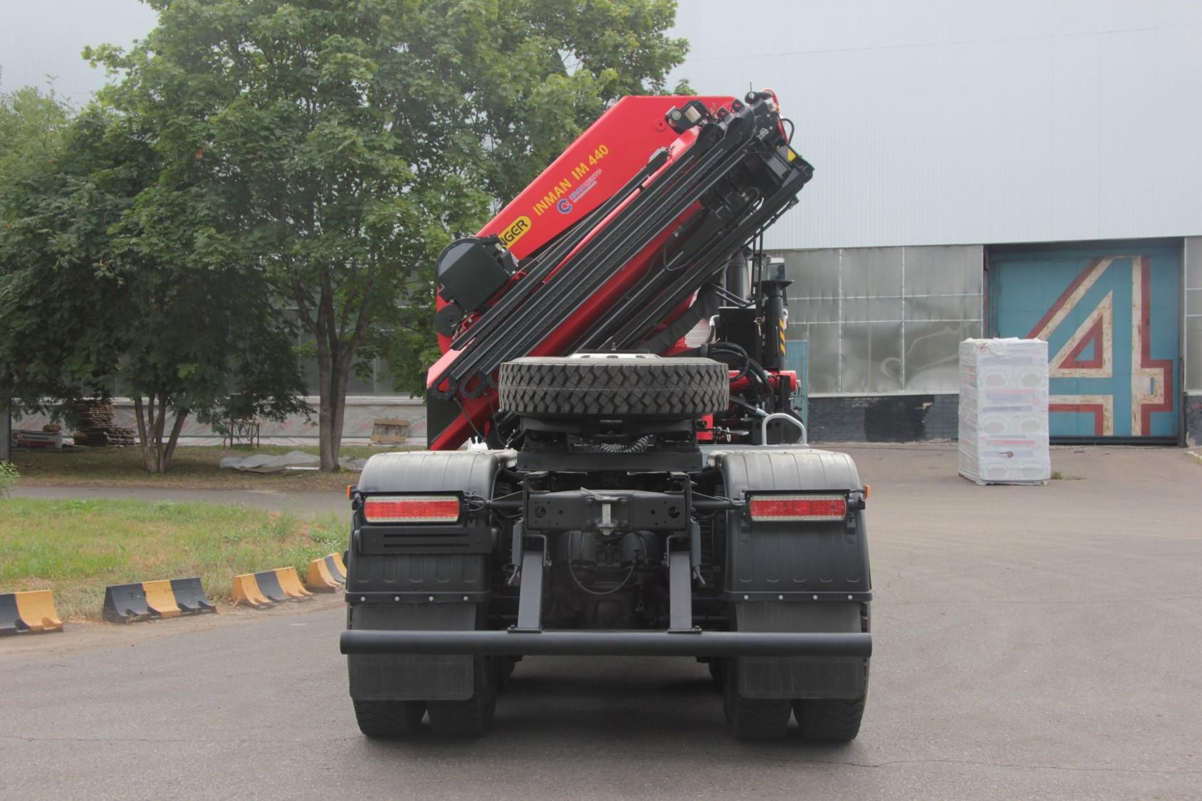 Кран манипулятор ИНМАН 150T