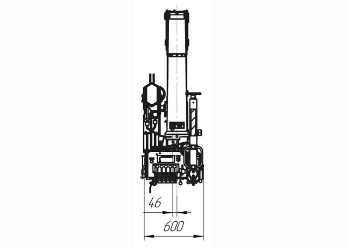 Кран манипулятор ИНМАН 55