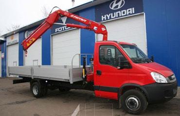 Эвакуатор на базе шасси Hyundai HD-78