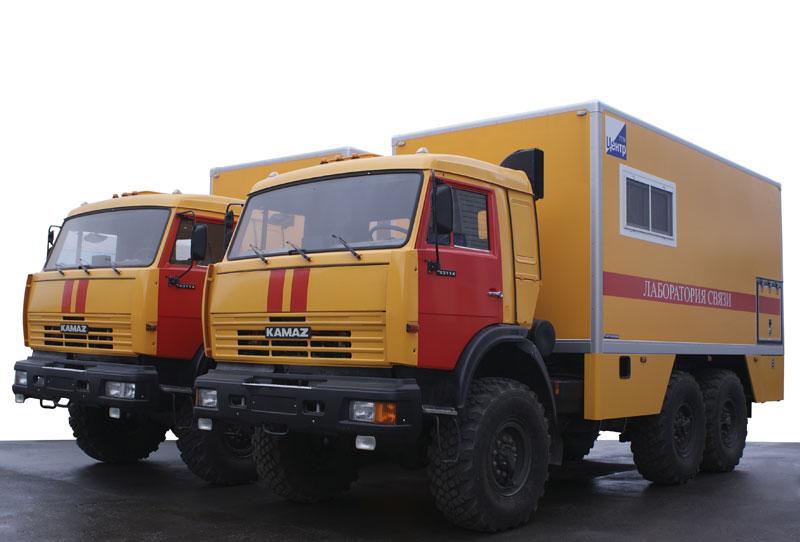 Техничка на базе КАМАЗ